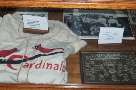 St. Louis Cardinal uniform worn by Terry Moore
