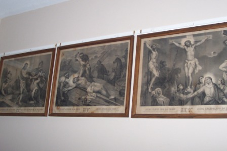 Old Stations of the Cross from St. Joseph Church